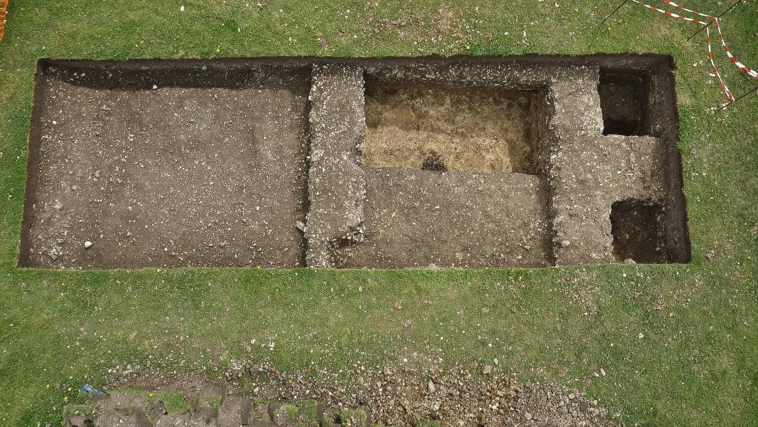 Roman villa Wiltshire 9