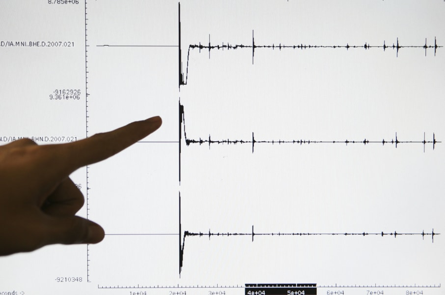 Earthquake magnitude measurement 3