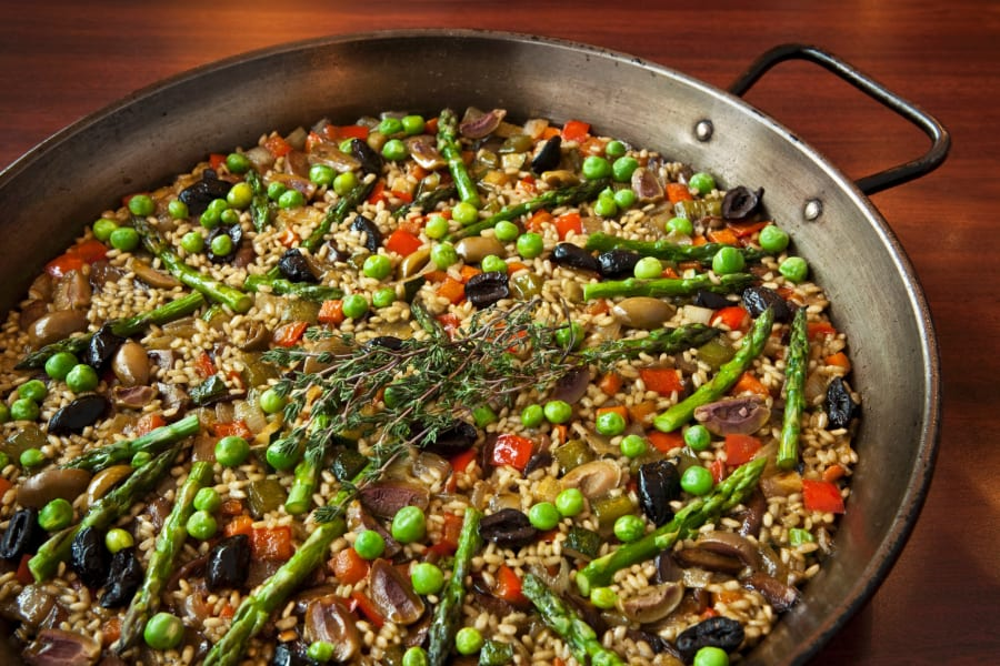 endless table paella
