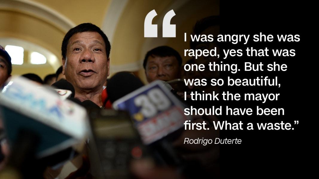 Rodrigo Duterte quote 1