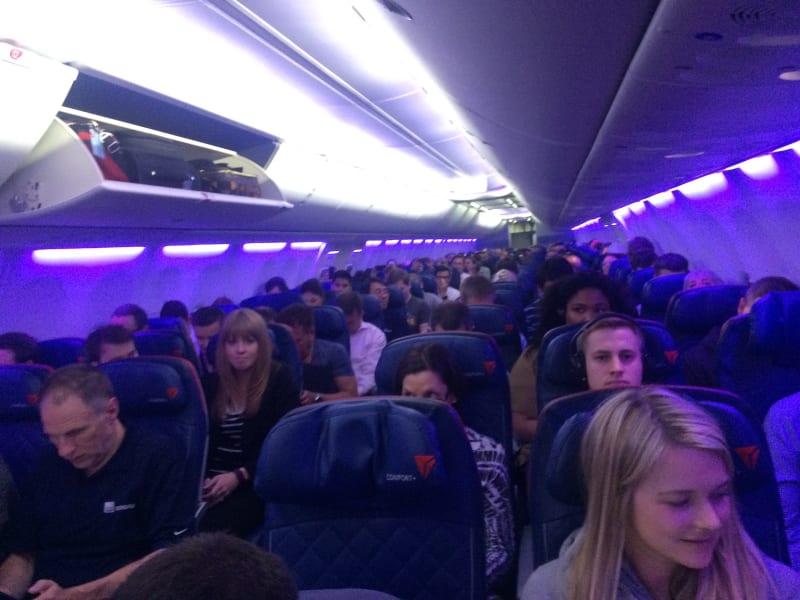 Delta Flight purple lighting prince
