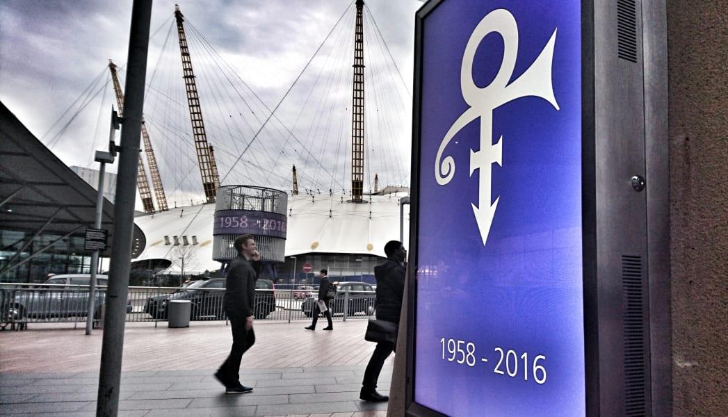 O2 Prince tribute