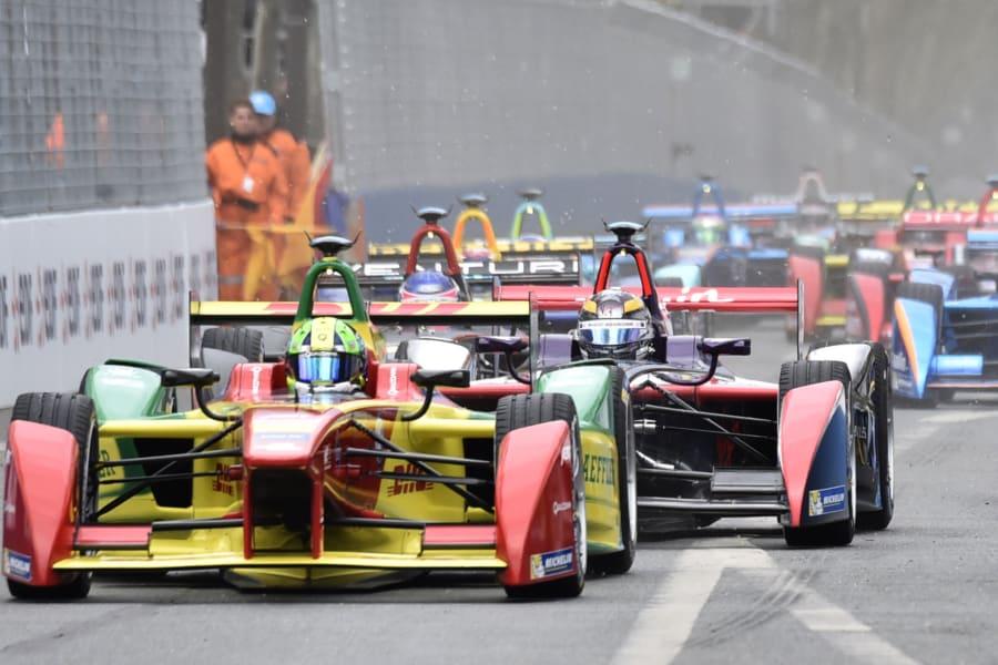 formula e di grassi on track paris