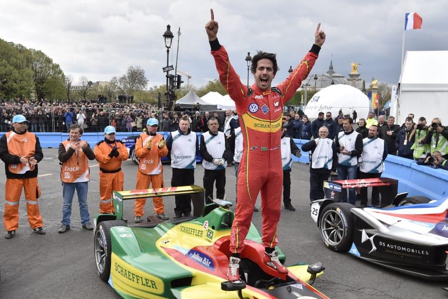 formula e did grassi celebrates