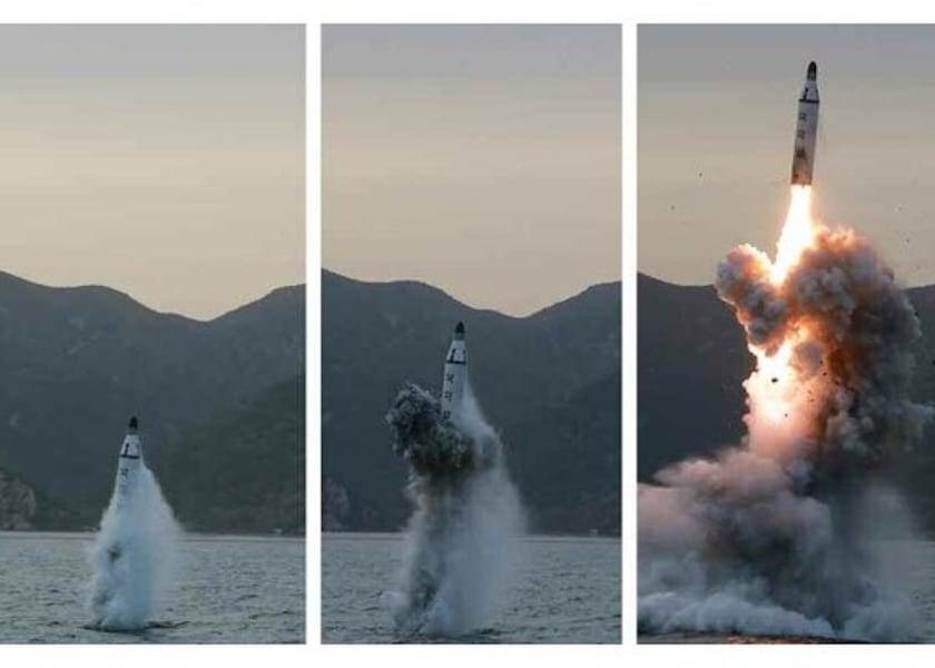 north korea slbm test