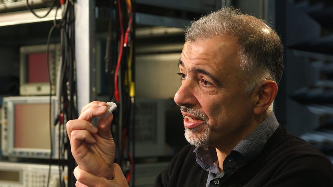 Chris Toumazou DNA microchip Imperial College