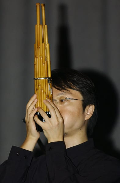 bamboo pipes instrument Sho