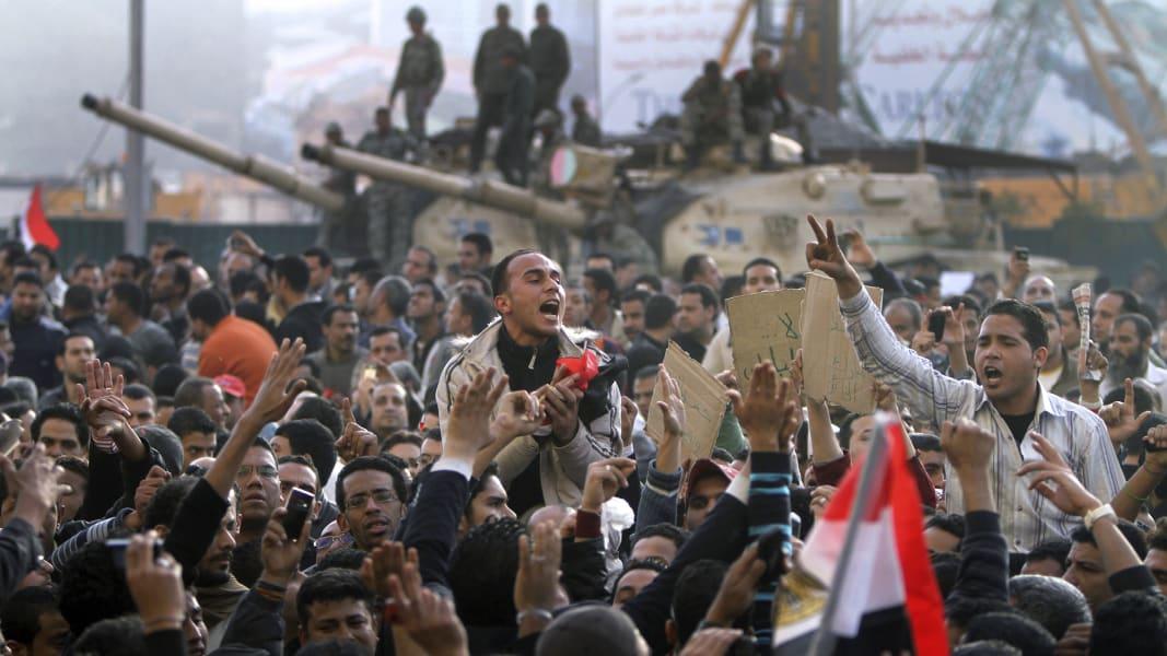 01 Arab Spring Egypt RESTRICTED
