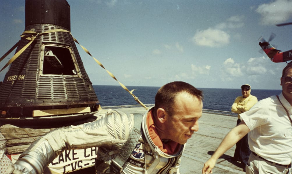 12 first american in space 0430