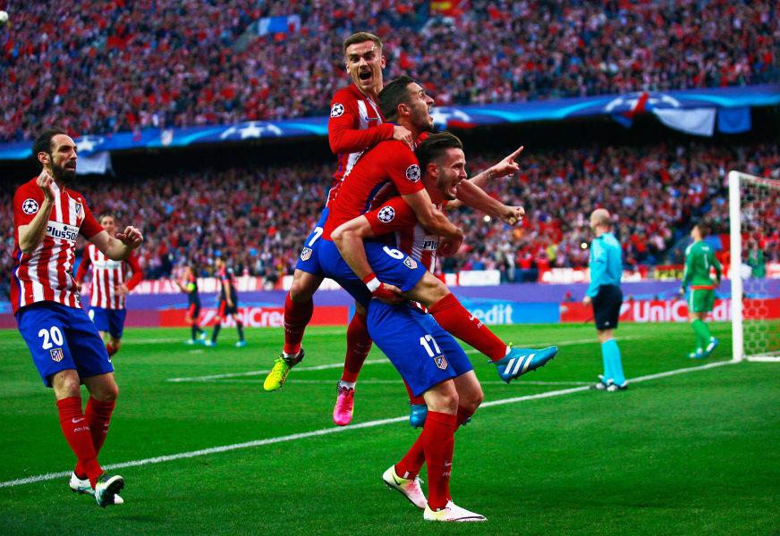 Atletico goal
