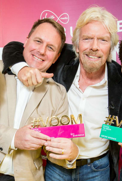 one of the founders of Fourex with Richard Branson
