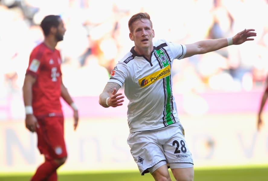 Andre Hahn of Borussia Moenchengladbach