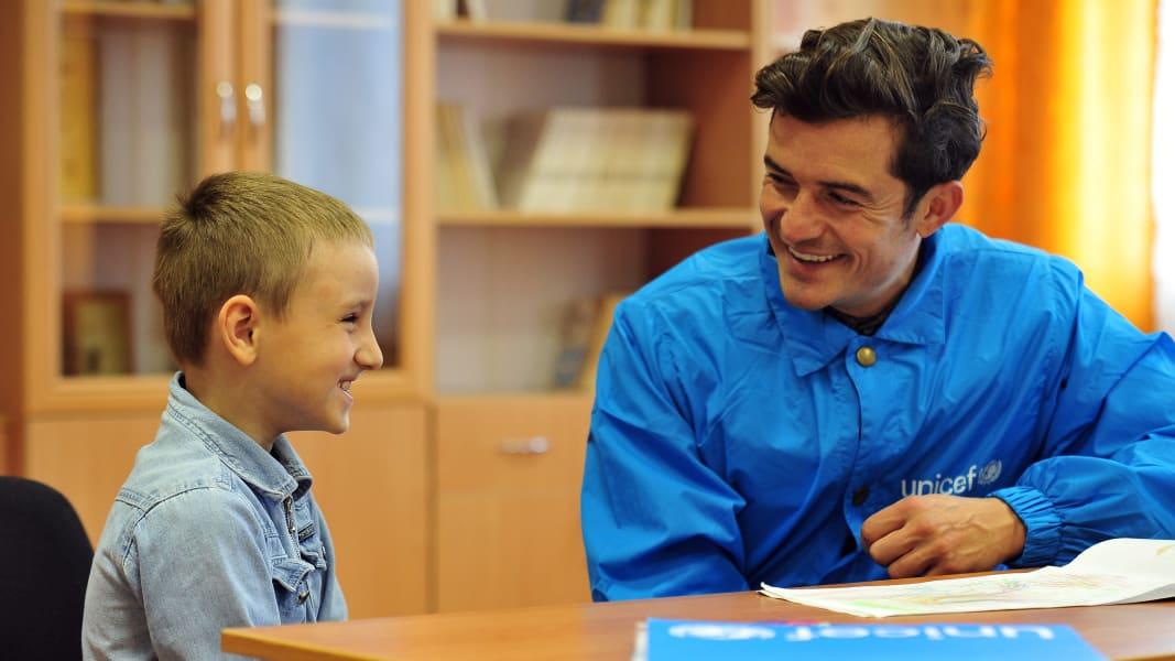 06 Orlando Bloom UNICEF