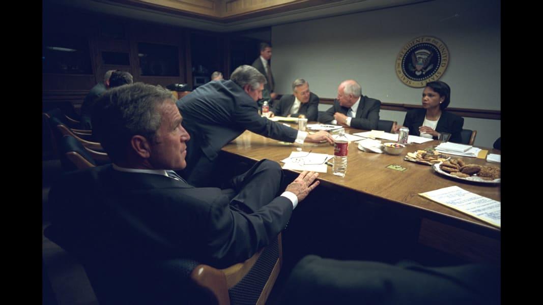 16 George W Bush 911