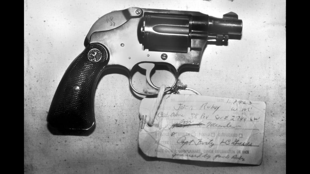 Jack Ruby Revolver RESTRICTED