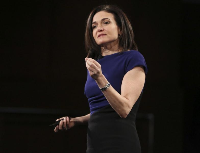 Sheryl Sandberg feb 02