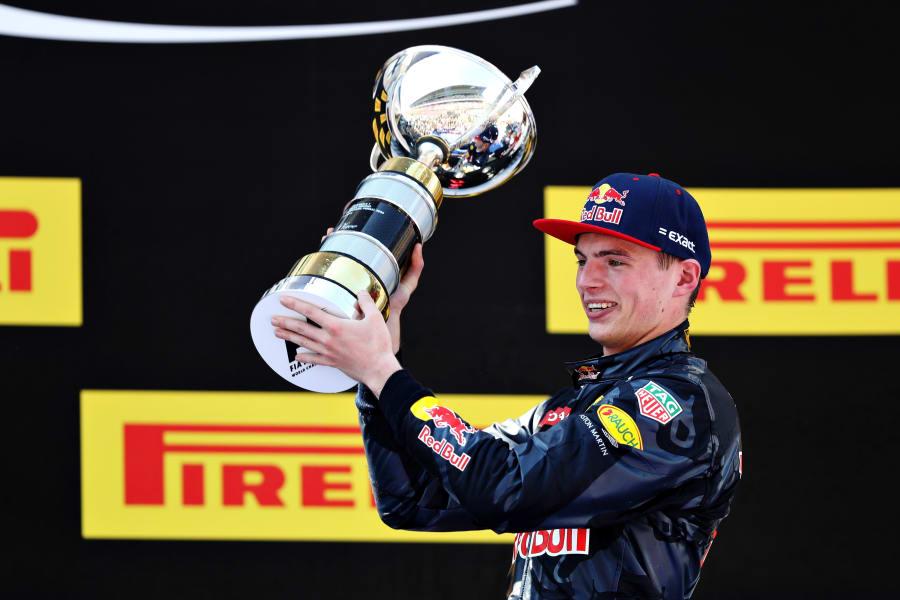 Verstappen trophy