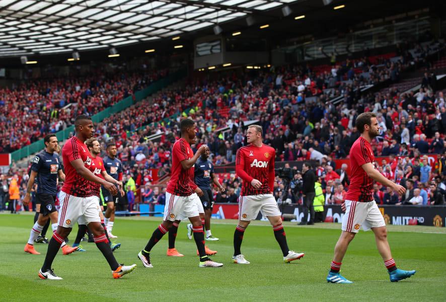 man united players old trafford