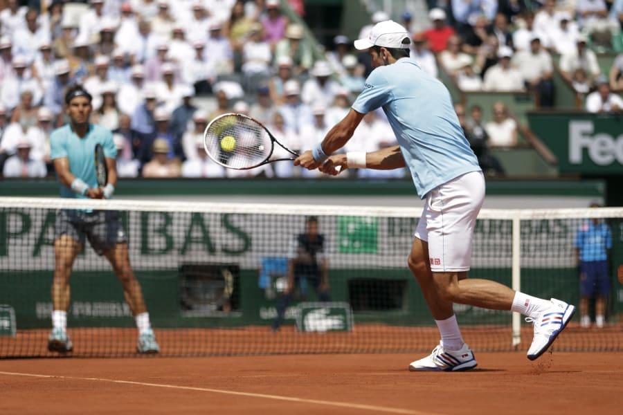 Djokovic Nadal French 14