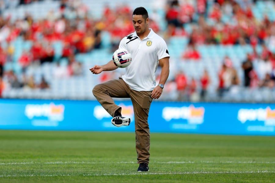 jarryd hayne soccer skills