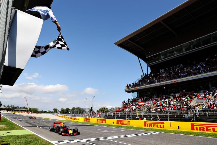 max verstappen first ever F1 win spain 2016