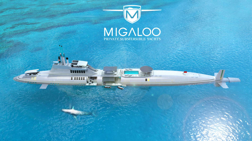 Migaloo Private Submersible Yacht 4