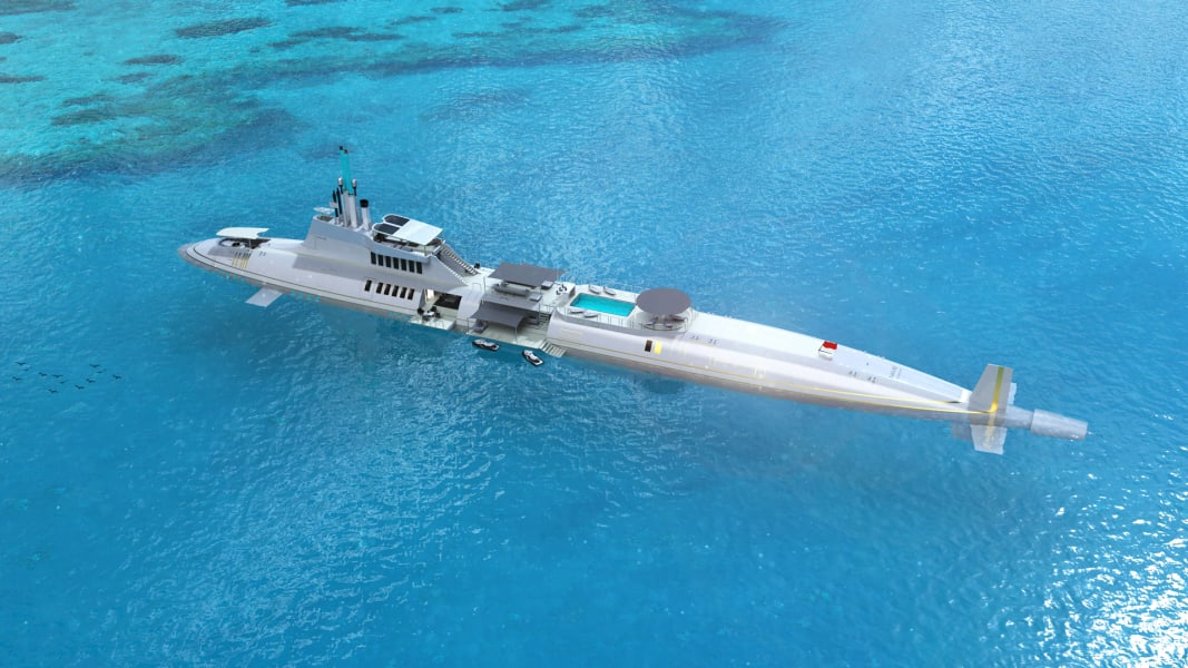 Migaloo Private Submersible Yacht 2