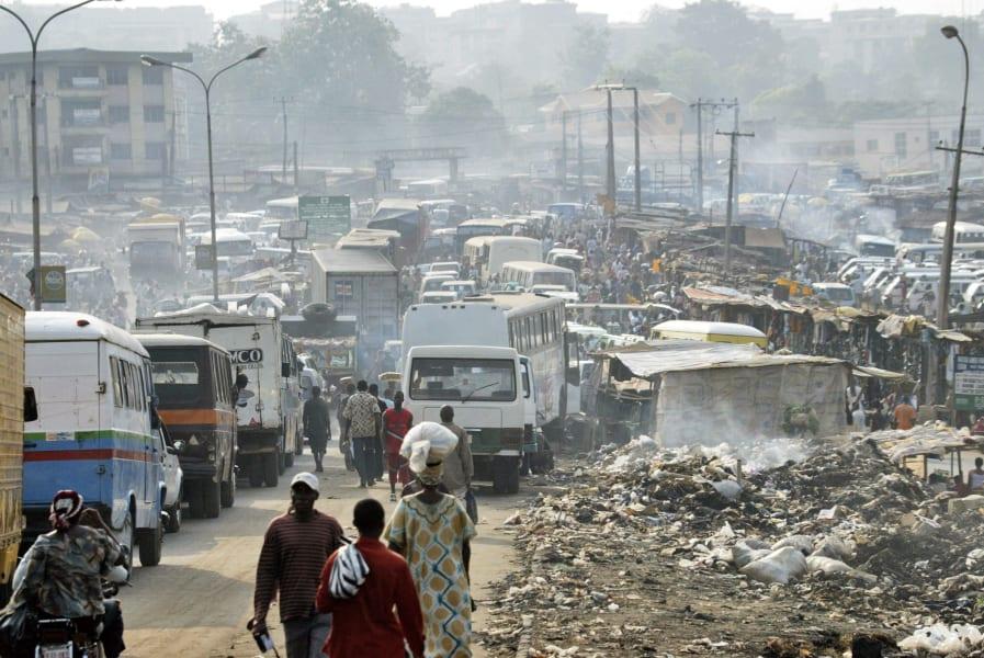 Onitsha traffick pollution