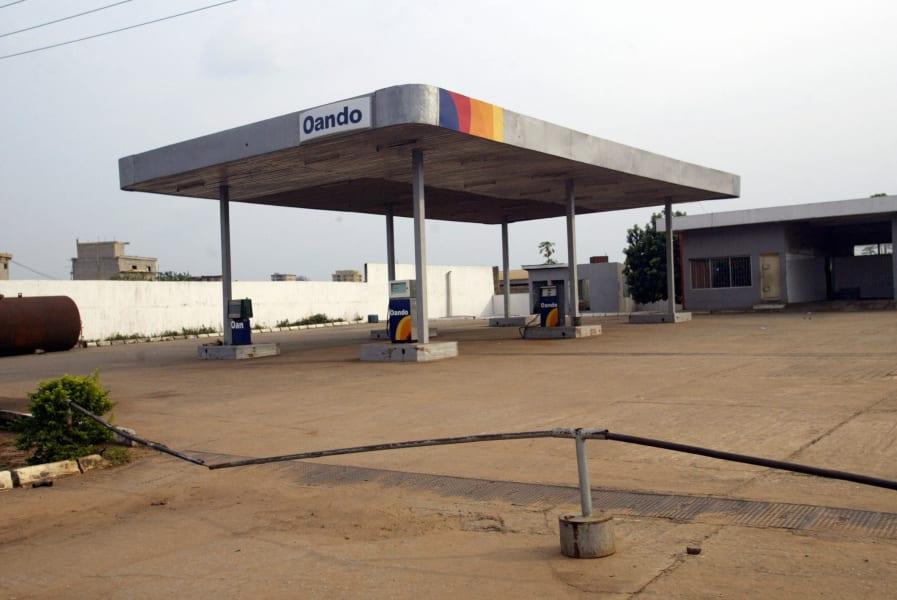 Onitsha pollution petrol station