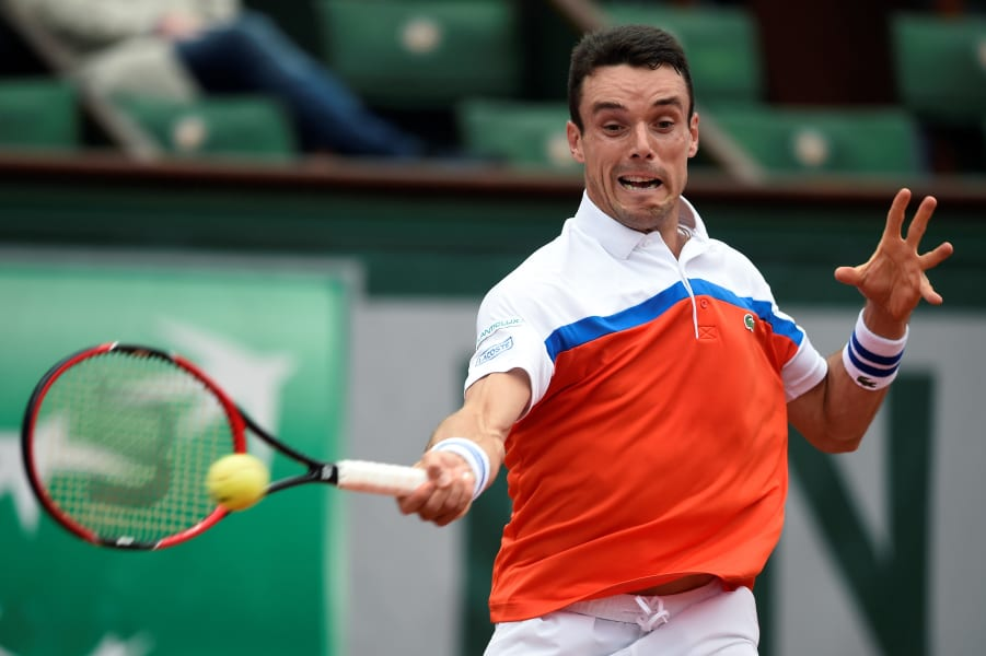 Roberto Bautista-Agut french open day 10