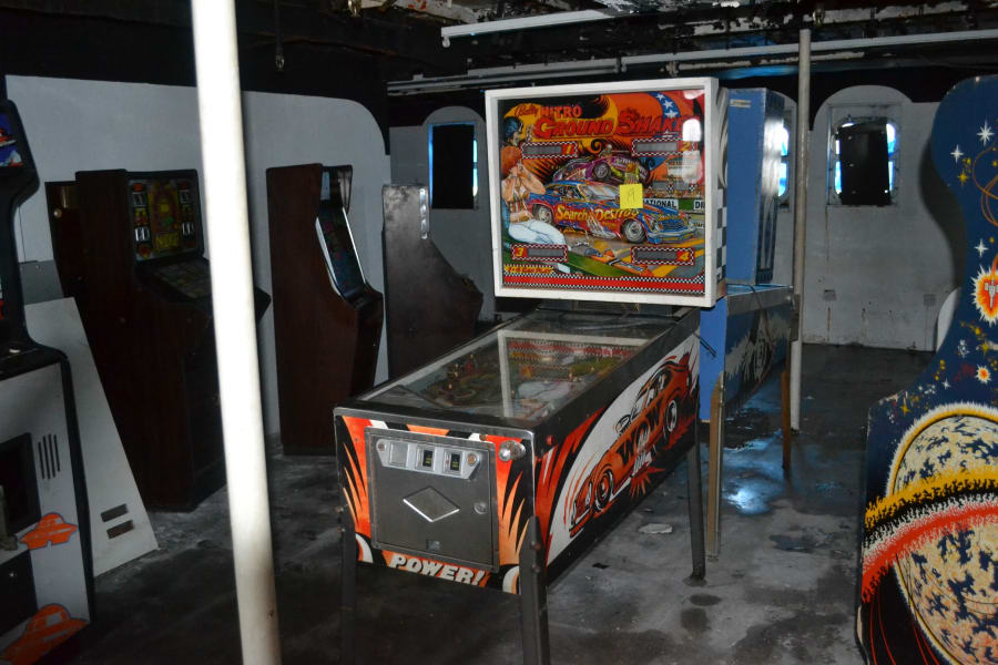 Arcade machines discovered in ship 2