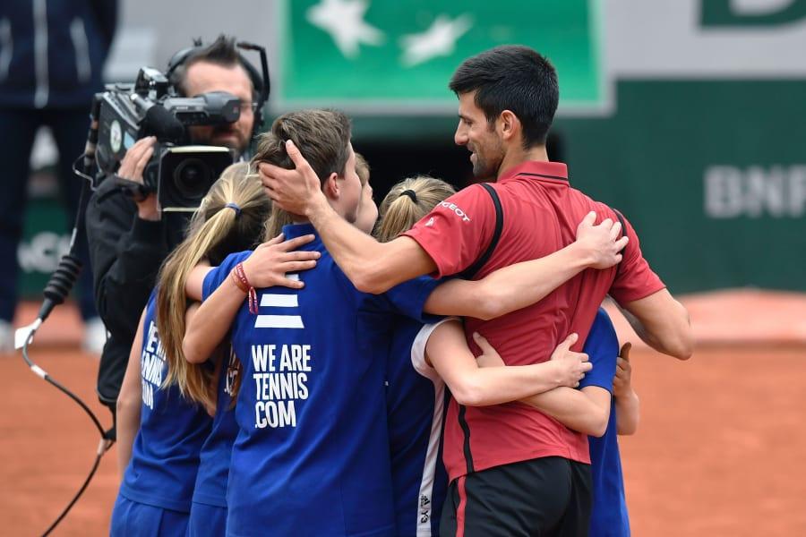 French Open Day 13 Serena Williams Andy Murray Novak Djokovic Through To Final