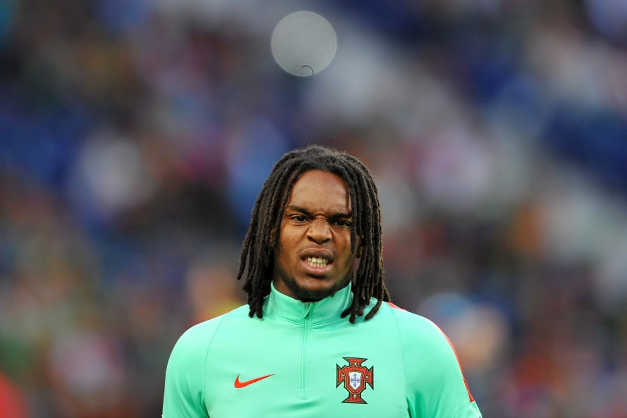 Renato Sanches of Portugal and Bayern Munich Next generation