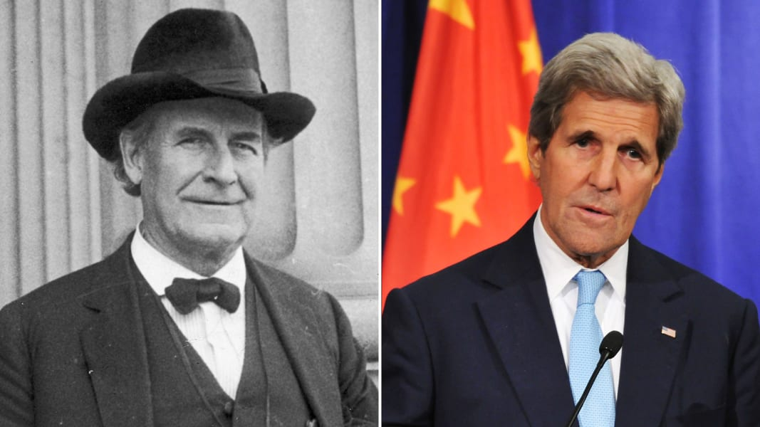 William Jennings Bryan and John Kerry