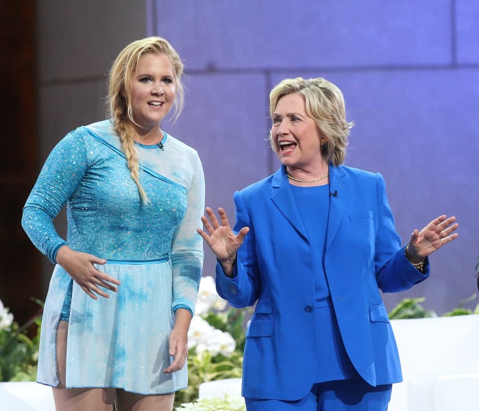 clinton amy schumer - RESTRICTED