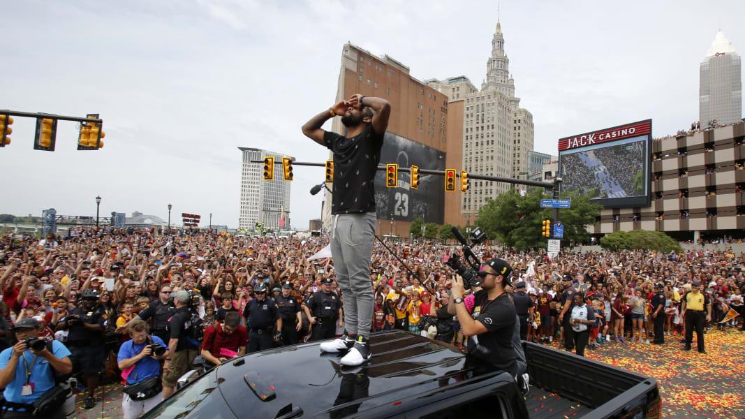 06 Cleveland Cavaliers parade 0622
