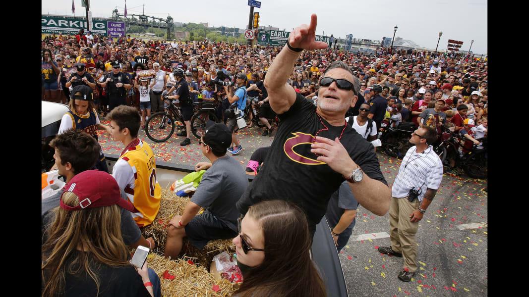 09 Cleveland Cavaliers parade 0622
