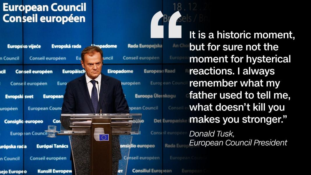 Quote graphic EU Donald Tusk