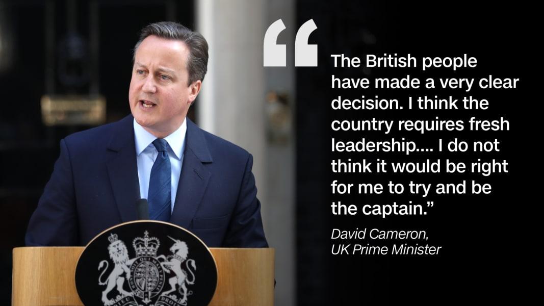 Quote graphic David Cameron