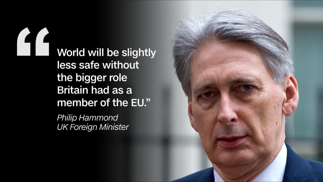Quote graphic Philip Hammond