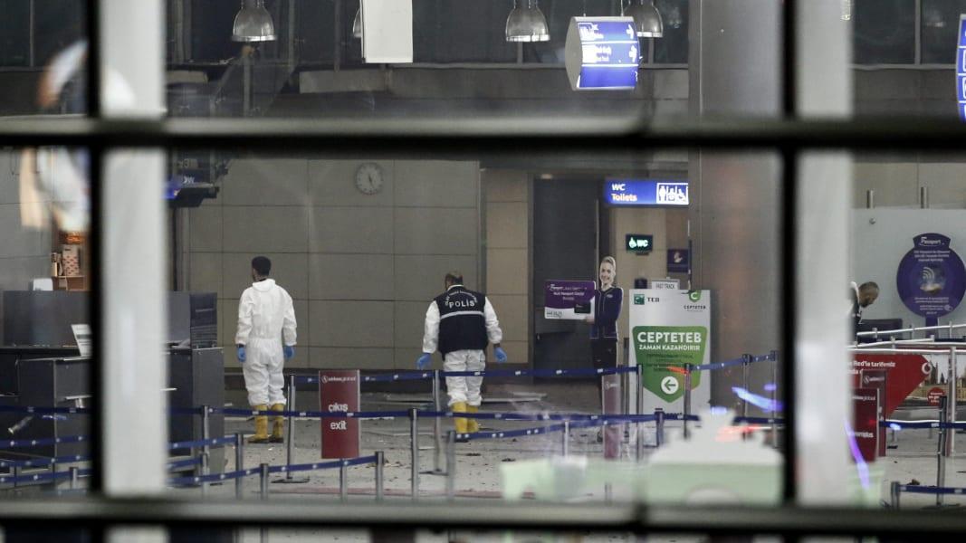 08 Istanbul Ataturk Airport Explosion RESTRICTED