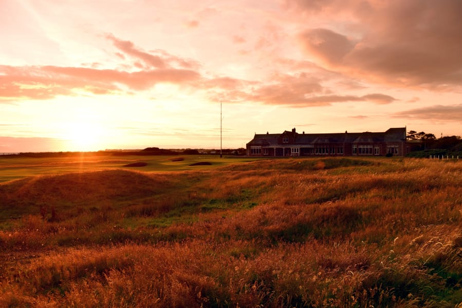 troon sunset