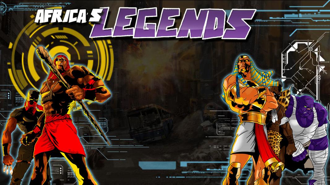 Leti Arts Africas Legends design