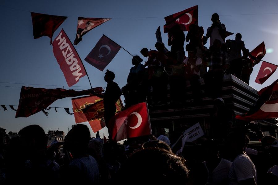 Taksim Square ralley 5