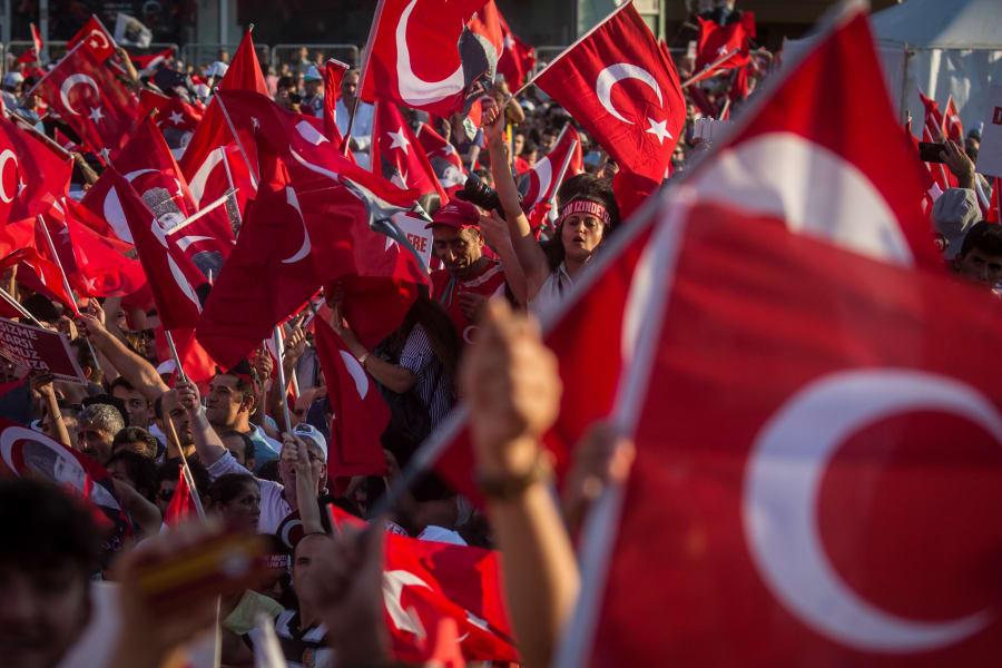 Taksim Square ralley 8