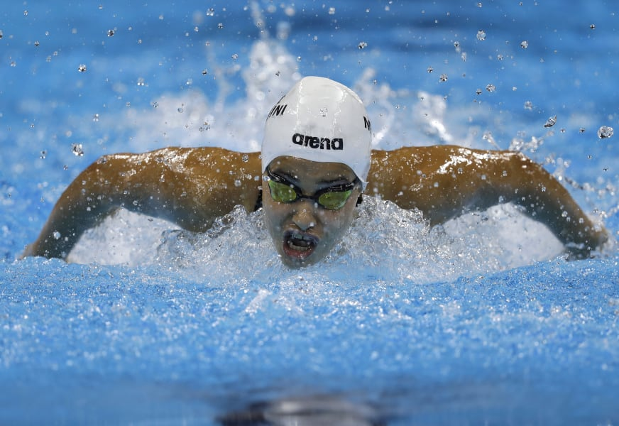 Yusra Mardini swimming 0806