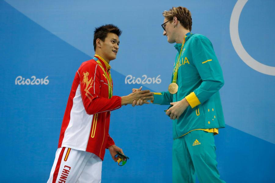 sun yang mack horton rio olympics