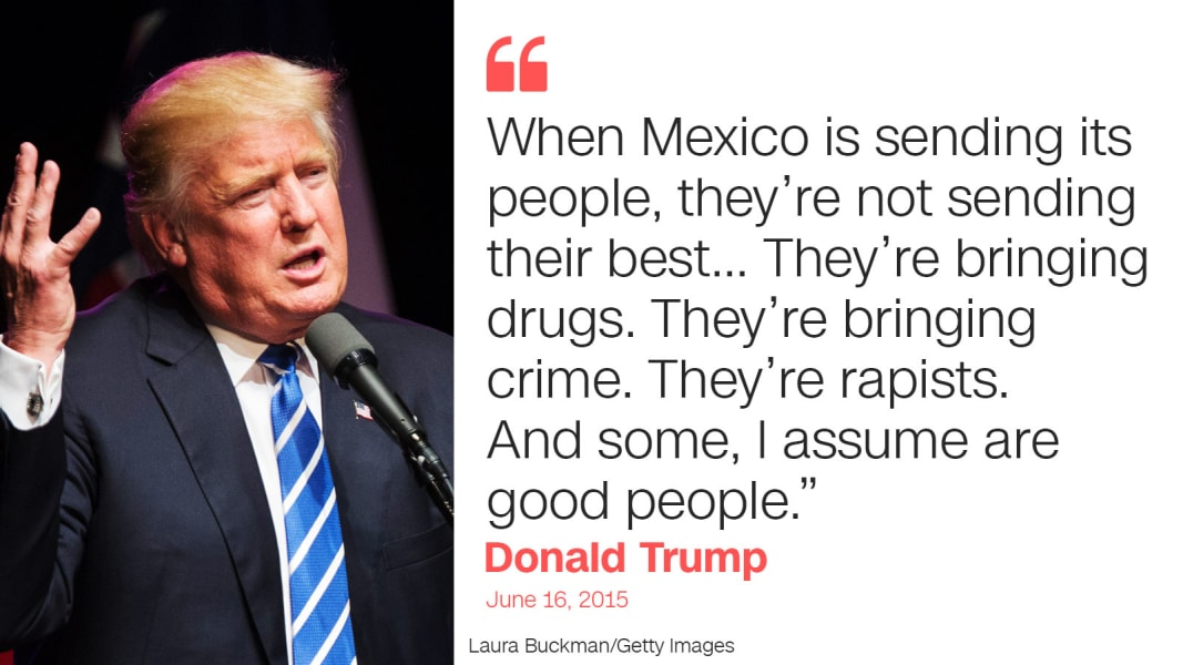 trump quote one mexico
