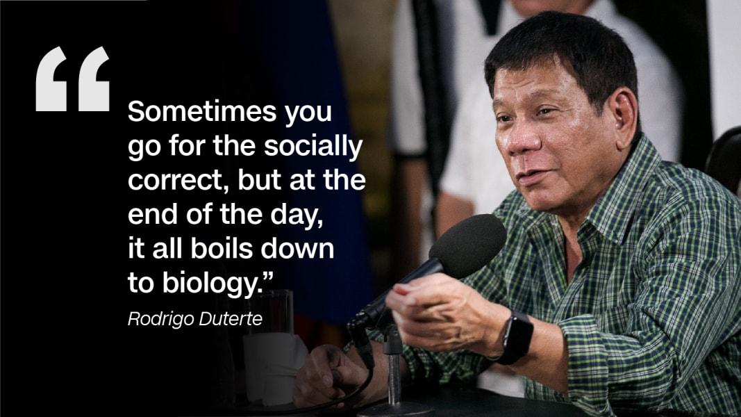 Rodrigo Duterte quote 9