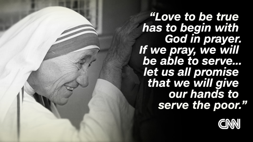 Mother Teresa: The \'Saint of the Gutters\' in her own words